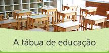 A tábua de educação